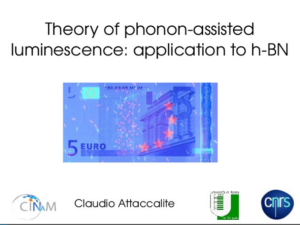 Theory of phonon-assisted luminescence   Claudio